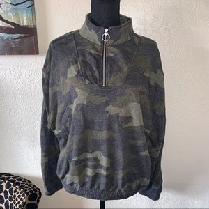 PINK by Victoria's Secret Camouflage Sweater